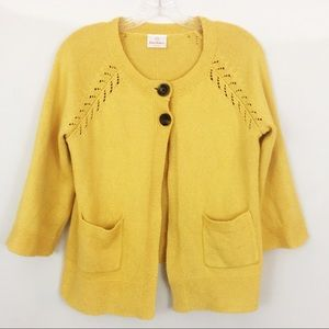 Hanna Anderson Yellow Sweater